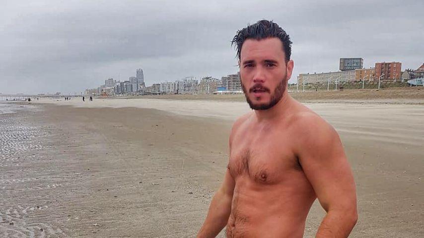Im Regen joggen: Bela Klentze trainiert hart für neuen Film!