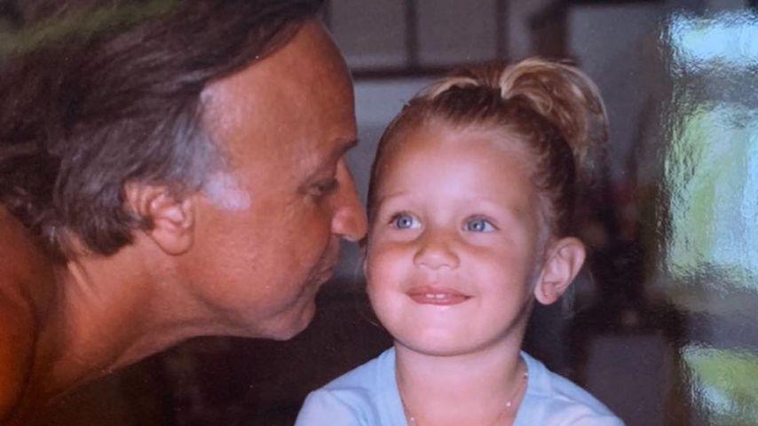 Süßer Sonnenschein: Bella feiert ihren Vater mit Kinderfotos