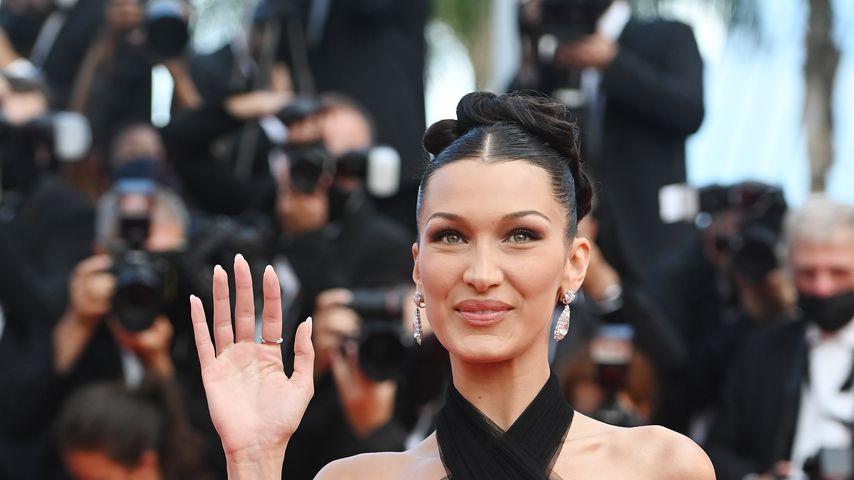 Bella Hadid im Juli 2021 in Cannes