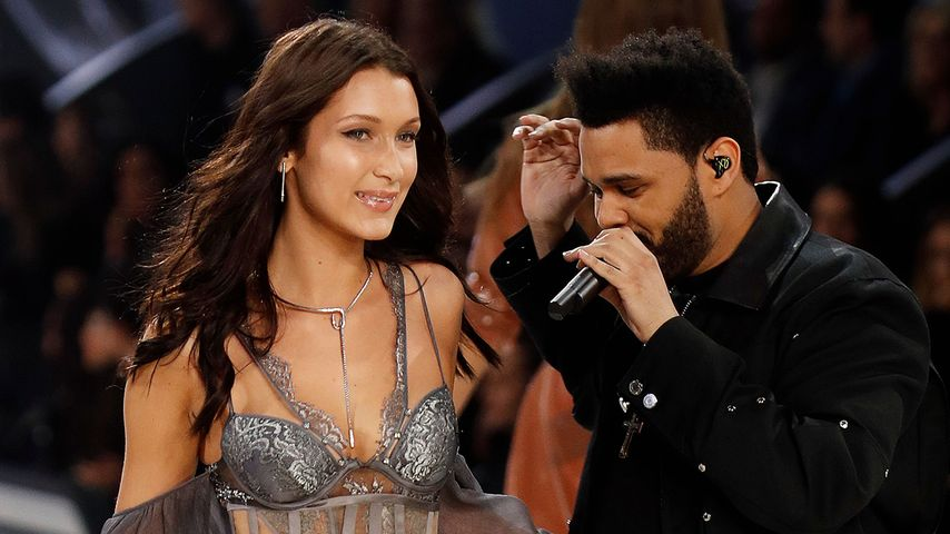 """Bella Hadid und The Weeknd im November bei der """"Victoria's Secret""""-Show in Paris"""