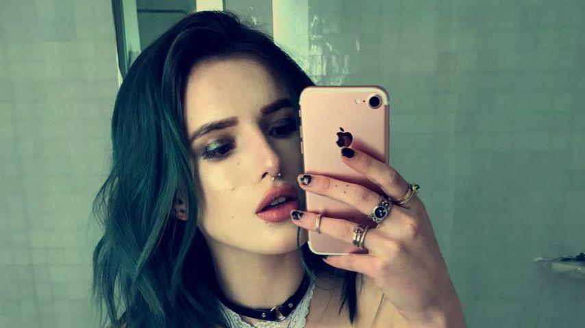 Sexy Nippel-Show! Bella Thorne zeigt ihr heißes Piercing