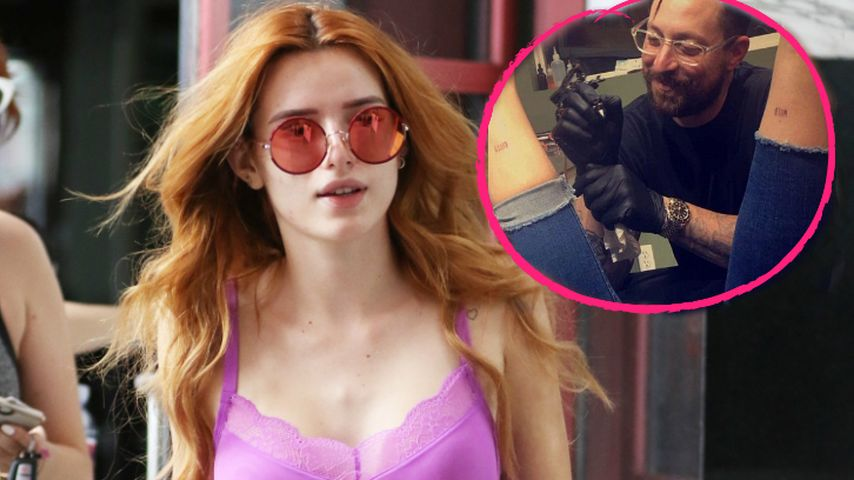 Wilder Spaß nach Outing: Das ist Bella Thornes neues Tattoo