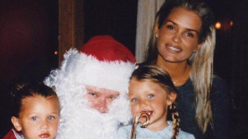 Bella und Gigi Hadid als Kinder mit ihrer Mutter Yolanda