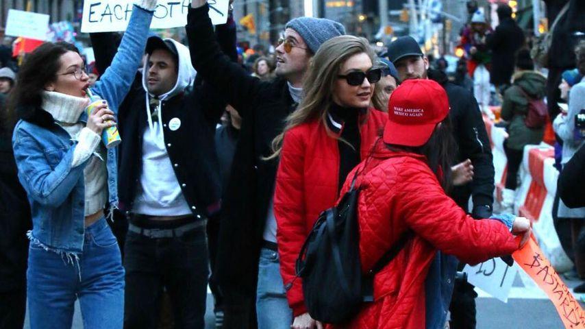 "Protest! Bella & Gigi Hadid gegen Trumps ""Muslim-Ban""!"