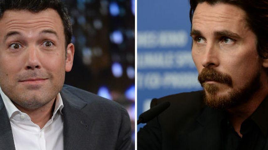 Wegen Batman: Bale ist eifersüchtig auf Affleck