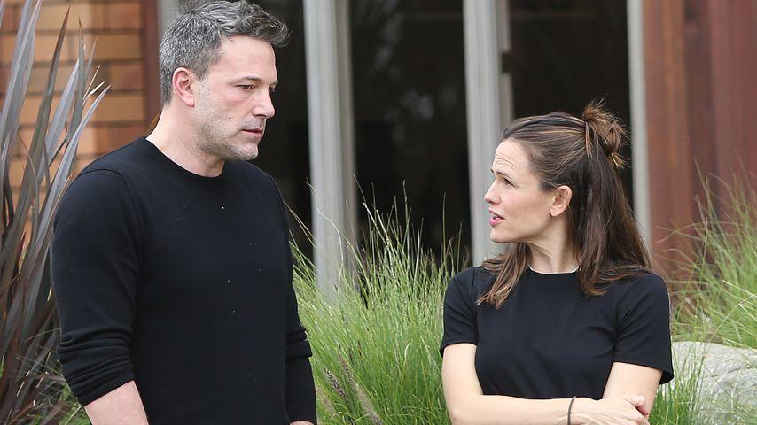Ben Affleck und Jennifer Garner beim Spaziergang gesichtet