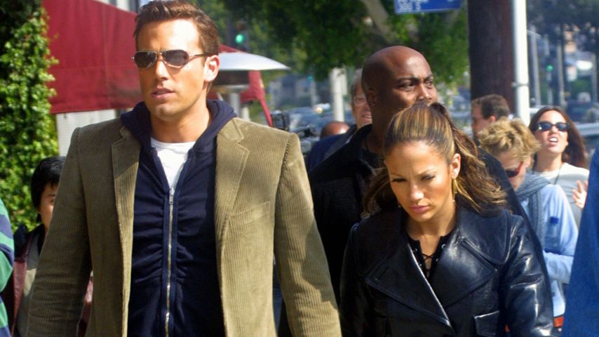Ben Affleck und Jennifer Lopez im Oktober 2002
