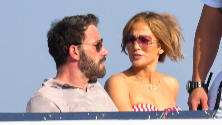 Ben Affleck und Jennifer Lopez auf Capri