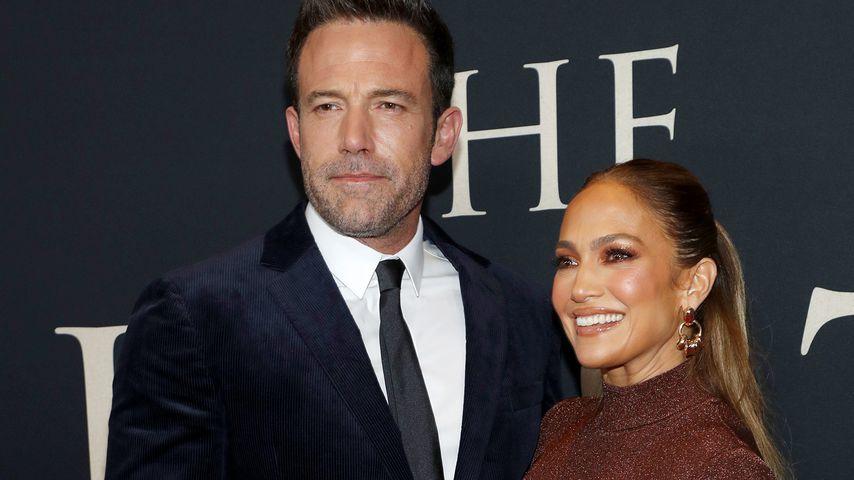 """Ben Affleck und Jennifer Lopez bei der """"The Last Duel""""-Premiere in New York, Oktober 2021"""