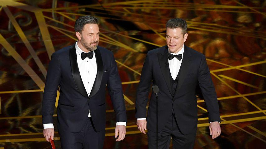 Ben Affleck und Matt Damon, 2017