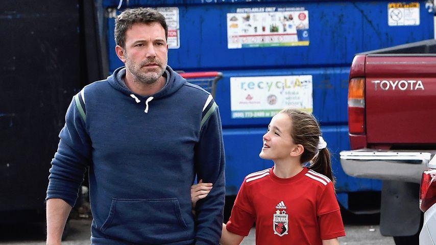 Ben Affleck und seine Tochter im Dezember 2019