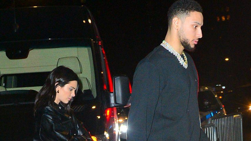 Ben Simmons und Kendall Jenner, Februar 2019