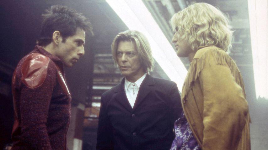 David Bowie, Ben Stiller und Owen Wilson