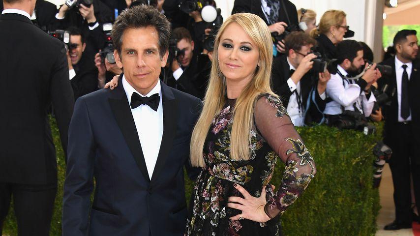 Ben Stiller und Christine Taylor 2016 in New York