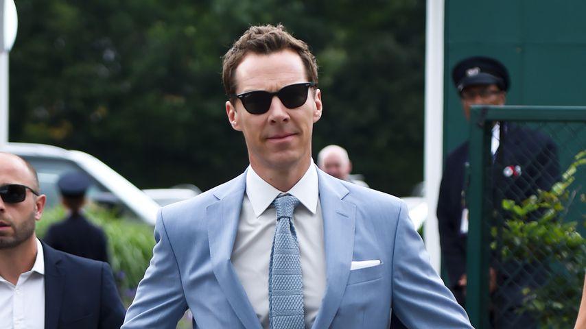 Benedict Cumberbatch beim Wimbledon-Finale 2019