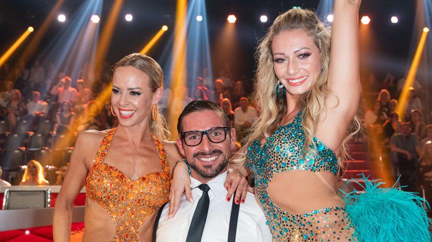 "Isabel Edvardsson, Benjamin Piwko und Regina Luca, ""Let's Dance""-Teilnehmer 2019"