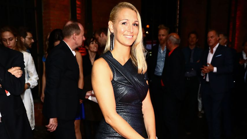 Bernadien Robben bei den Sport Bild Awards 2019
