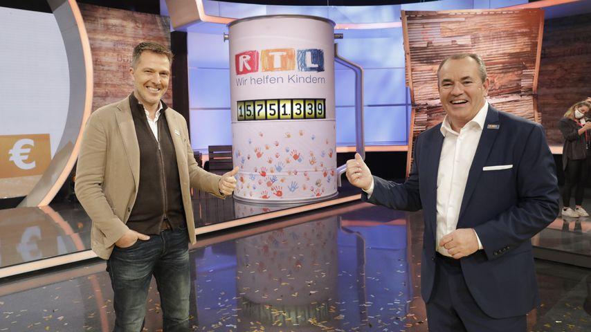 Bernd Reichart und Wolfram Kons für den RTL-Spendenmarathon 2020