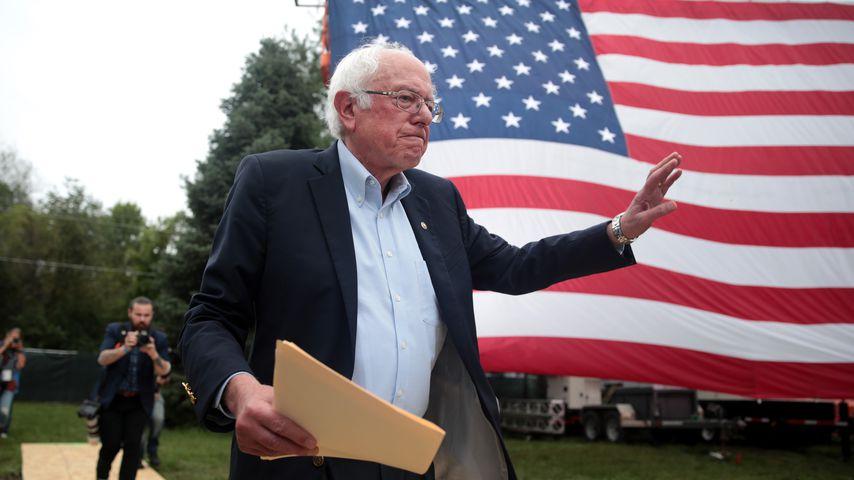 Bernie Sanders in Des Moines, 2019