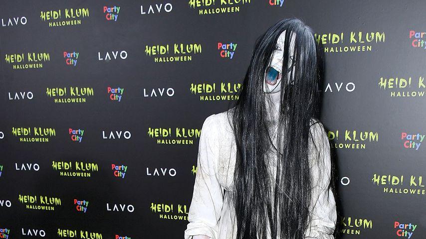 Betty Taube-Günter bei Heidi Klums Halloween-Party 2018