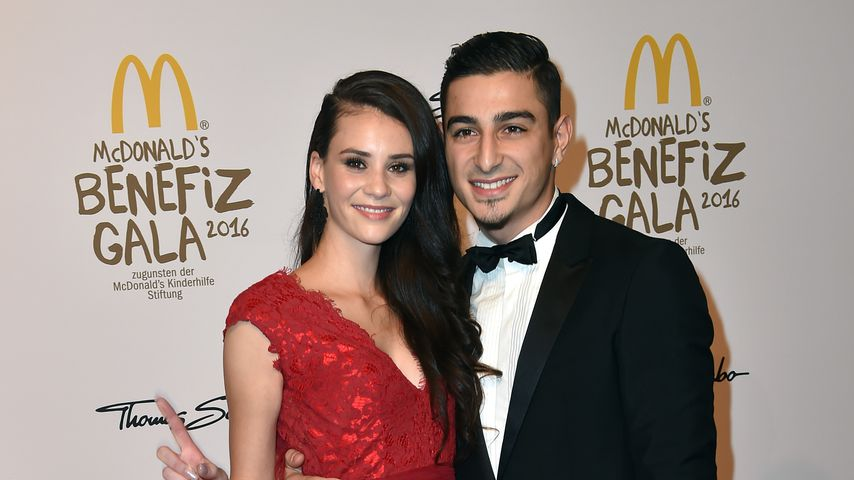 Betty Taube und Koray Günter bei der McDonalds Charity Gala 2016