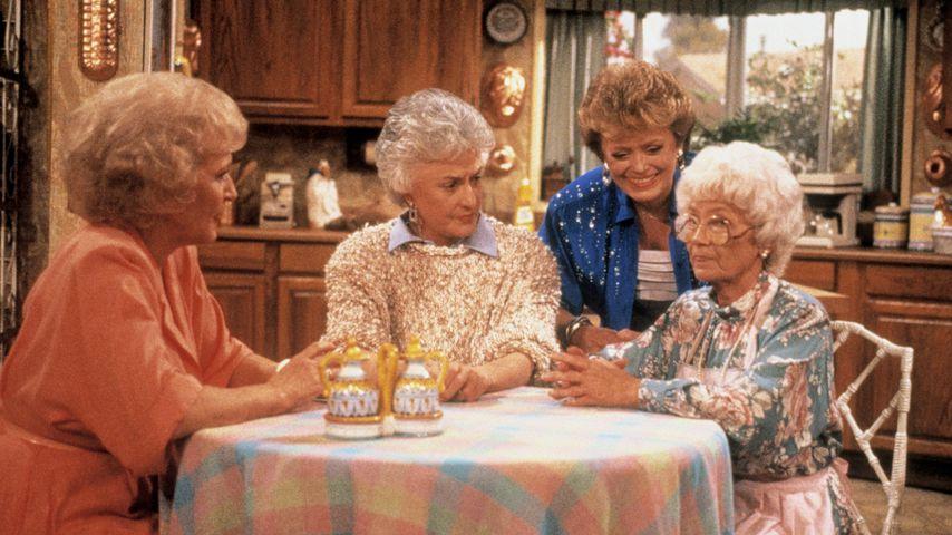 """Betty White, Bea Arthur, Rue McClanahan und Estelle Getty in """"Golden Girls"""""""