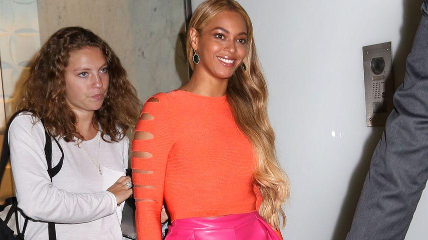 Quetsch-Quietsch-Alarm! Beyoncé setzt auf falsche Größe