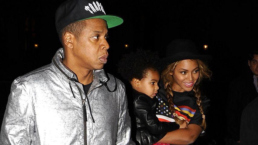 Beyonce, Jay-Z und Blue Ivy Carter