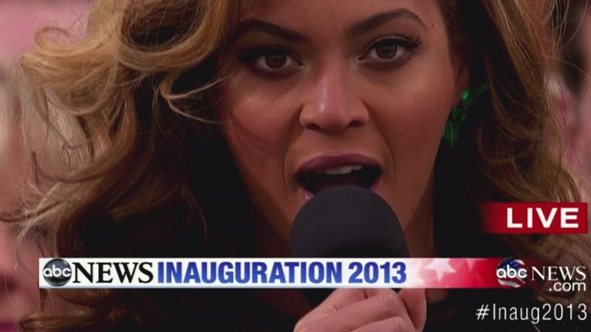 Beyoncé ärgert sich über Playback-Kritik