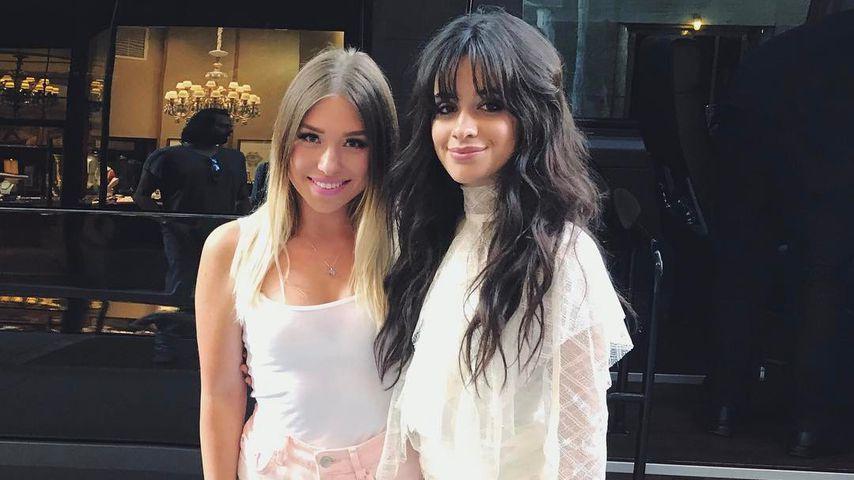 Bibi Claßen und Camila Cabello 2017 in New York