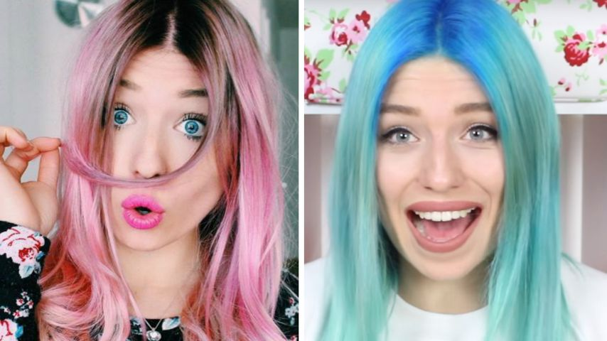 Haarspektakel: Die 6 wildesten Looks von YouTube-Star Bibi