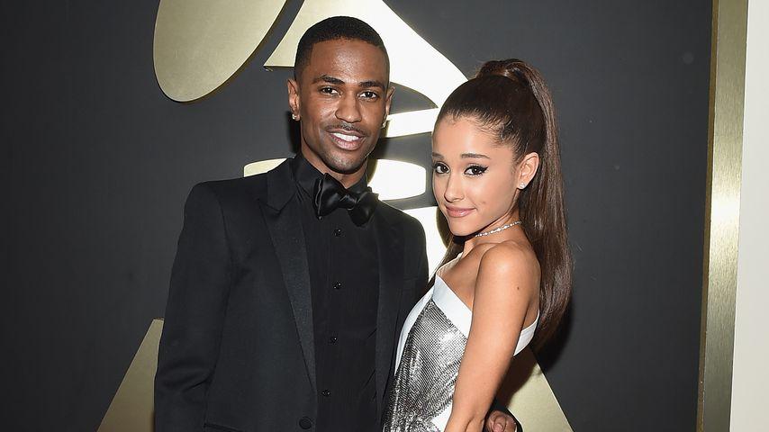 Big Sean und Ariana Grande bei der 57. Grammy-Verleihung in Los Angeles, 2015