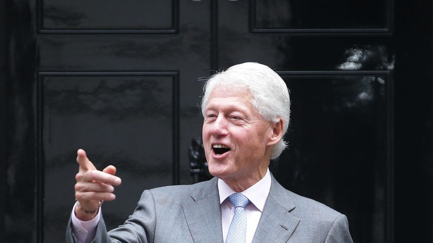 Bill Clinton in London