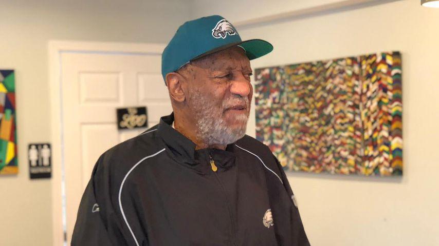 Seltener Auftritt: Bill Cosby supportet sein Football-Team!