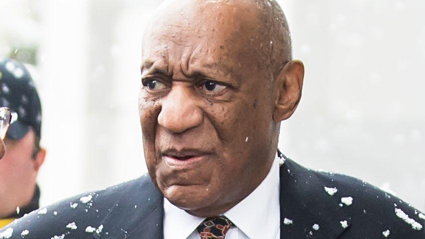 Bill Cosby auf dem Weg zum Gericht