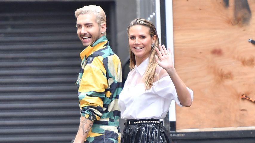 Bill Kaulitz und Heidi Klum am GNTM-Set in Los Angeles