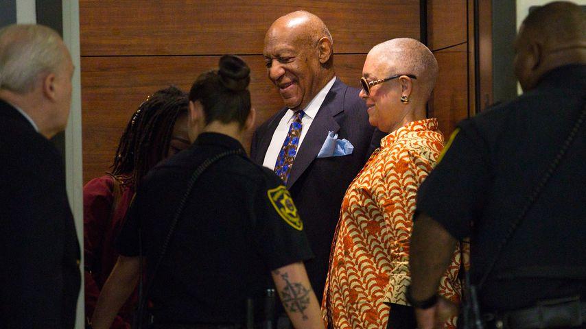 Bill und Camille Cosby im Gerichtsgebäude