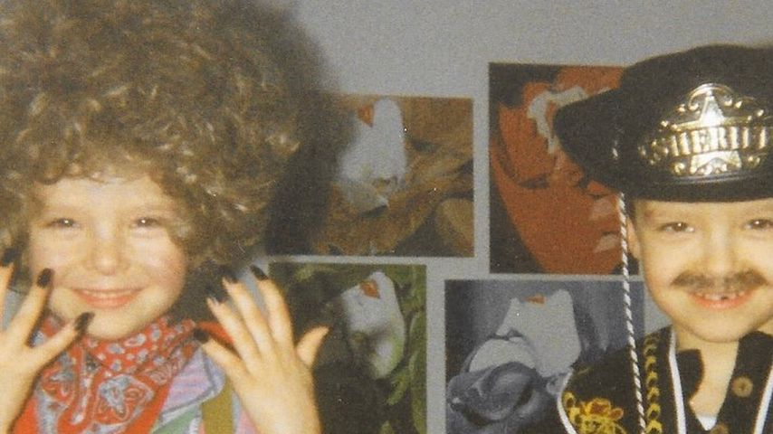 Kinderfoto von Bill und Tom Kaulitz