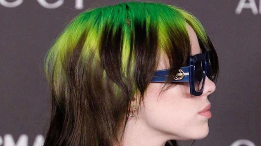 Billie Eilishs Vokuhila auf LACMA-Gala war ein Haar-Unfall