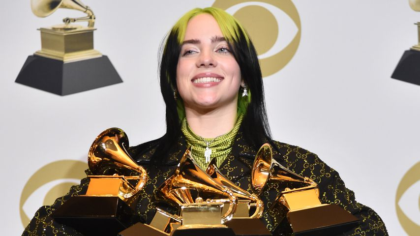 Billie Eilish bei den Grammys 2020