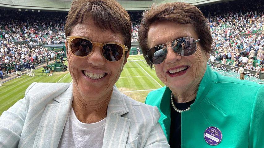 Mit Partnerin: Billie Jean King nach 40 Jahren verheiratet
