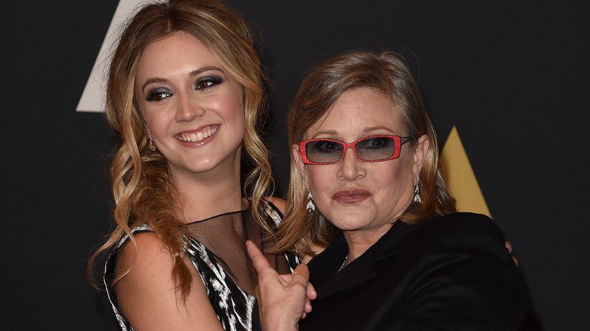 Dritter Todestag: Billie Lourd singt für Mama Carrie Fisher!