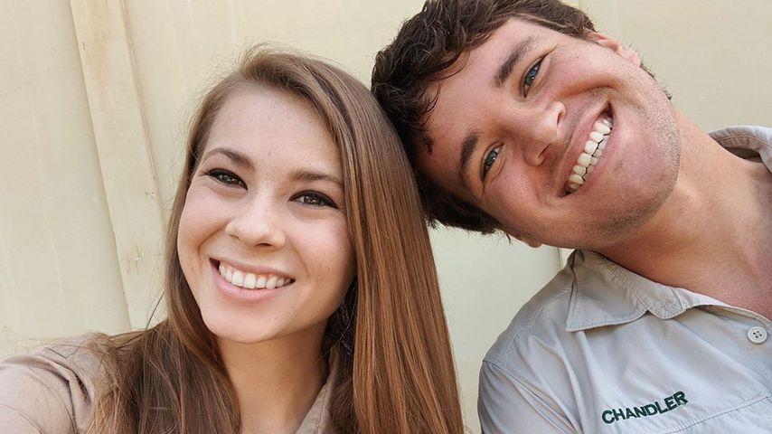 Bindi Irwin und Chandler Powell im Februar 2020