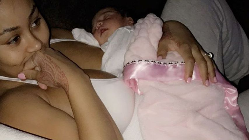 Blac Chyna mit ihrer Tochter Dream