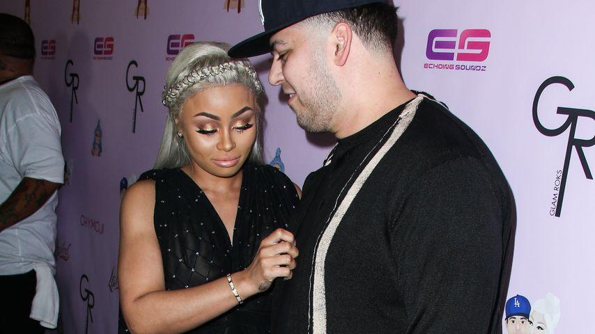 Blac Chyna und Robert Kardashian in Los Angeles