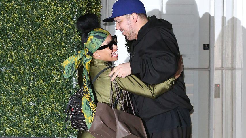 Blac Chyna und Robert Kardashian