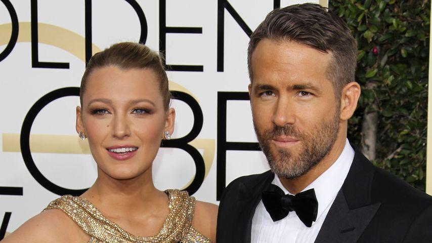 Blake Lively und Ehemann Ryan Reynolds