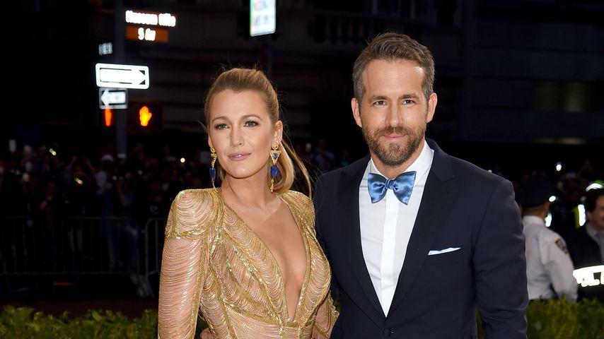 Die Schauspieler Blake Lively und Ryan Reynolds