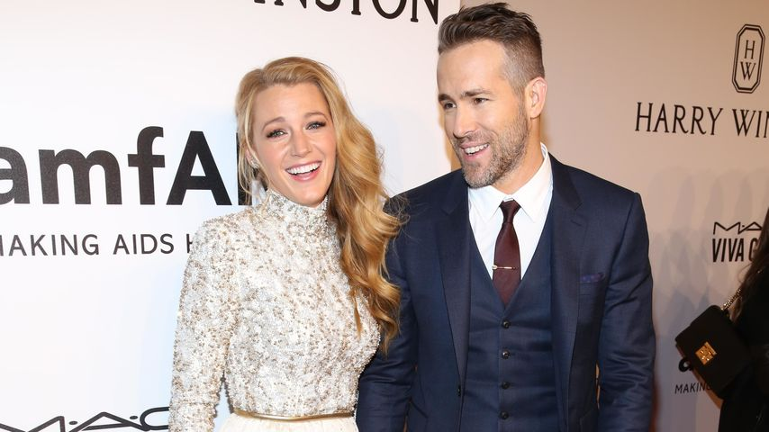 Blake Lively und Ryan Reynolds bei der amfAR-Gala in New York