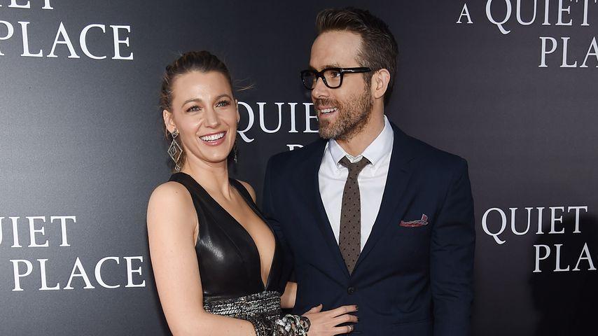 Blake Lively und Ryan Reynolds im April 2018